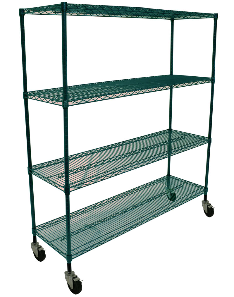 Restaurant Kitchen Shelving restaurant kitchen designing - wire style - omega products blog