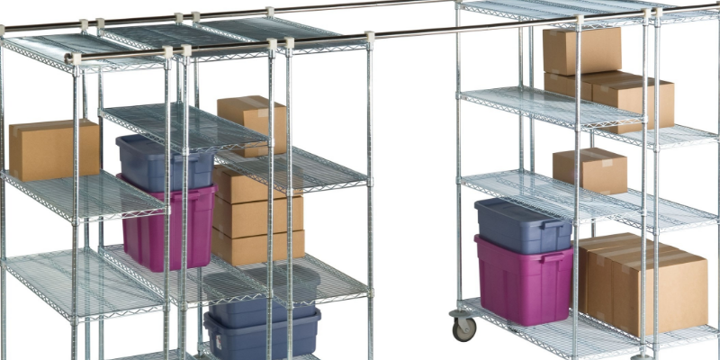 Discussions Sliding Wire Storage Shelving System