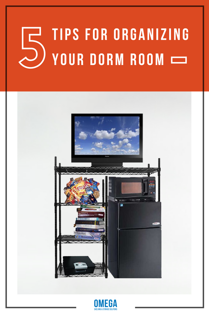 5 Tips for Organizing your Dorm Room