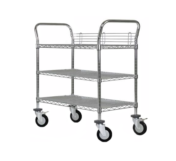 stainless steel hospitality cart