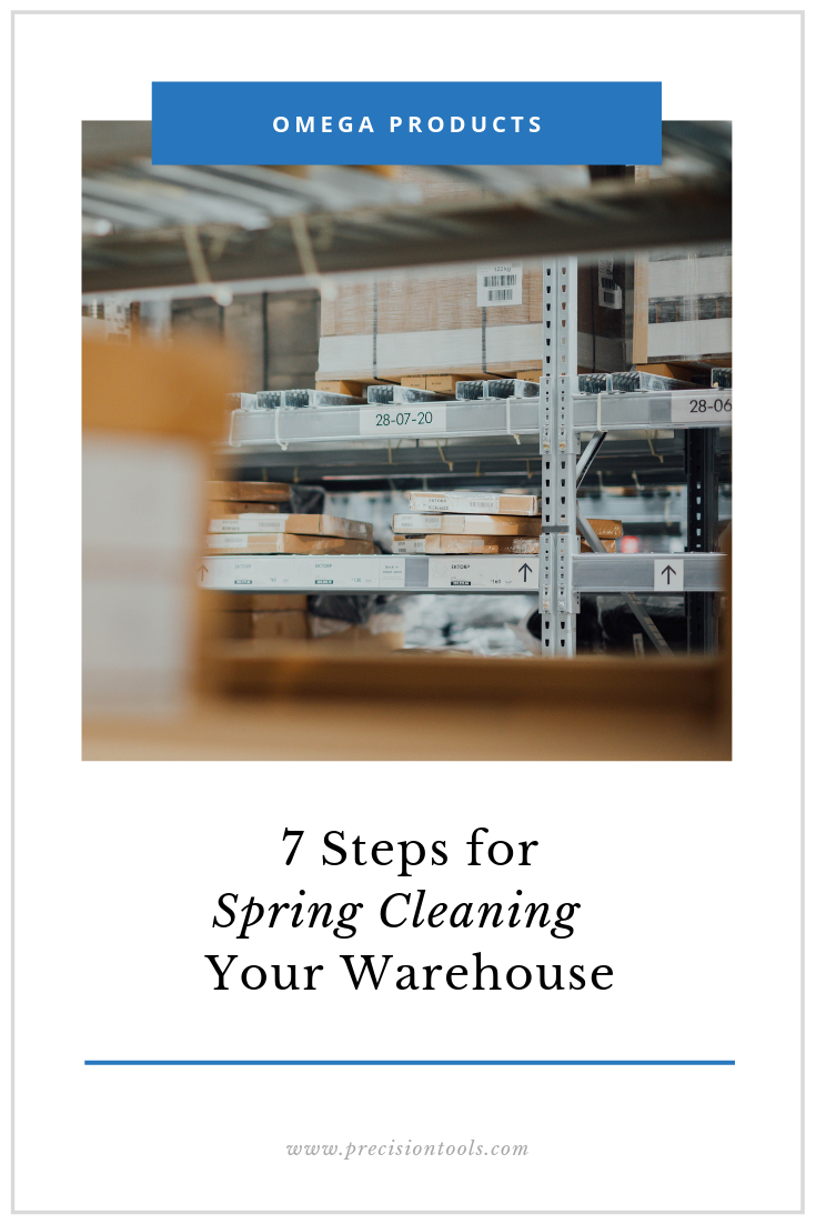 seven steps for spring cleaning your warehouse