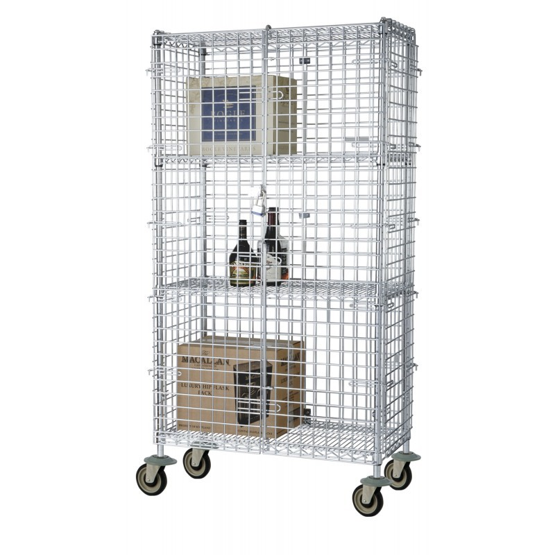 Wire Security Cabinets by Omega Products Corporation