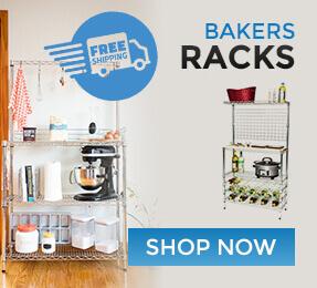 Beautiful Chrome Bakers Racks - Free Shipping