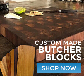 Custom Made Butcher Blocks Shop Now
