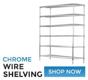 Chrome Wire Shelving Shop Now